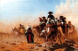 Jean-Léon Gérôme - Bonaparte et son armée en Egypte (Napolean and his General Staff in Egypt)
