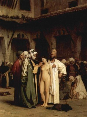 Jean-Léon Gérôme - Slave Market (or For Sale)