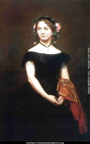 Portrait of Mlle Durand (or Madame Duvergier)