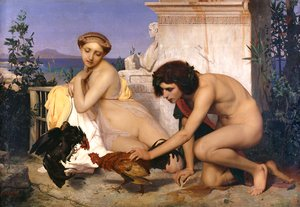 Jean-Léon Gérôme - The Cock Fight