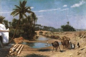 Jean-Léon Gérôme - Caravan (or A Journey Through Algeria)
