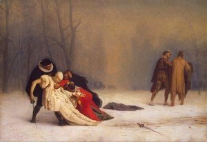 Jean-Léon Gérôme - Duel After a Masquerade Ball
