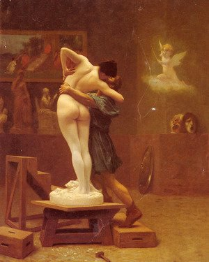 Jean-Léon Gérôme - Pygmalion and Galatea