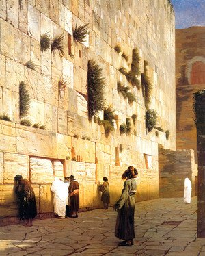 Jean-Léon Gérôme - Solomon's Wall Jerusalem (or The Wailing Wall)