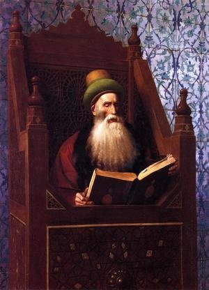 Jean-Léon Gérôme - Mufti Reading in His Prayer Stool