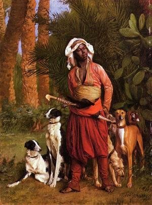 Jean-Léon Gérôme - The Negro Master of the Hounds