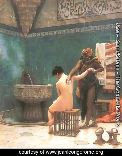 Jean-Léon Gérôme - The Bath