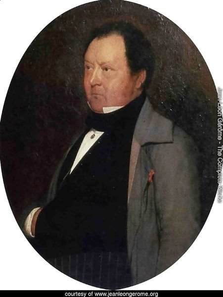 Portrait of M. Leblond