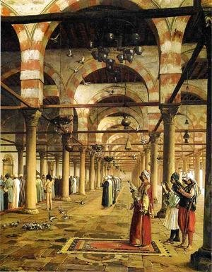Jean-Léon Gérôme - Paryer in the Mosque
