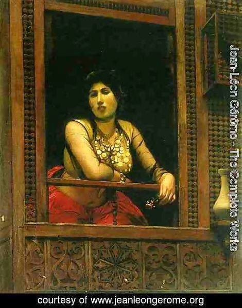 Jean-Léon Gérôme - Woman at Her Window