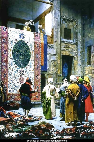 Carpet Merchant in Cairo