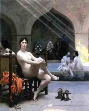 Jean-Léon Gérôme - The Women's Bath