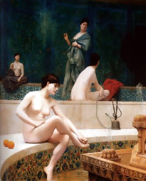 Jean-Léon Gérôme - The Harem Bathing