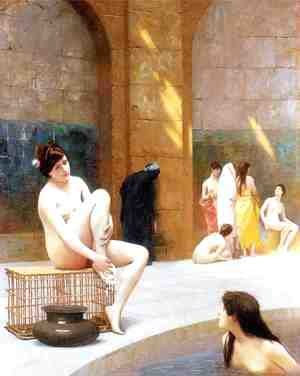 Jean-Léon Gérôme - Women Bathing