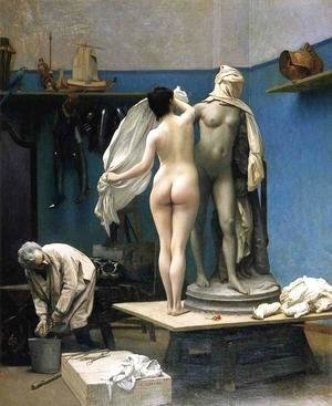 Jean-Léon Gérôme - The End of the Sitting