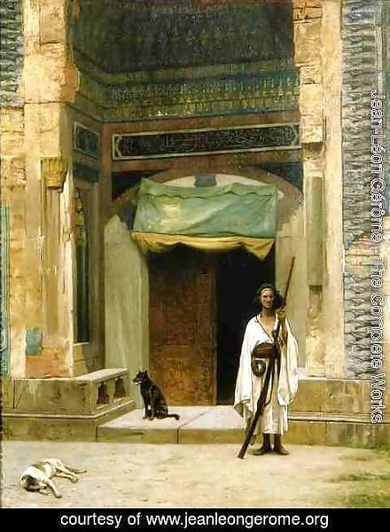 Jean-Léon Gérôme - Door of the Green Mosque