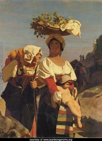 Two Italian Peasant Women and an Infant