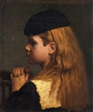 Jean-Léon Gérôme - Portrait of a Girl