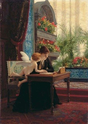 La Lettre d'amour (The love letter)