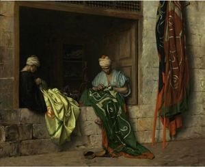 Jean-Léon Gérôme - The Flagmakers (Les Fabricants De Drapeaux)