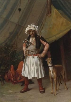 A Bashi-Bazouk And His Dog
