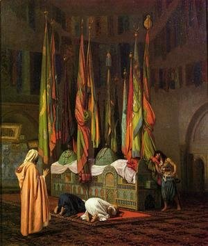 Jean-Léon Gérôme - The Shrine of Imam Hussein