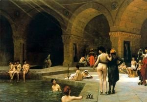 Jean-Léon Gérôme - The Large Pool of Bursa