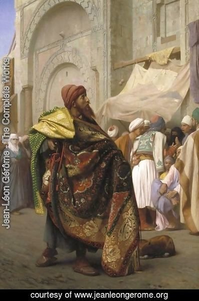 Jean-Léon Gérôme - The Carpet Merchant of Cairo