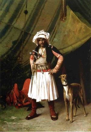 Jean-Léon Gérôme - Bashi Bazouk And His Dog
