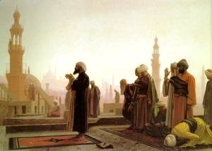 Jean-Léon Gérôme - Prayer In Cairo
