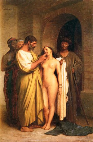 Jean-Léon Gérôme - Purchase Of A Slave
