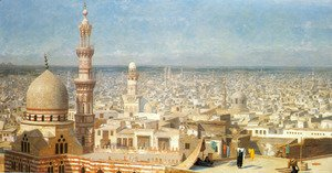 Jean-Léon Gérôme - View Of Cairo